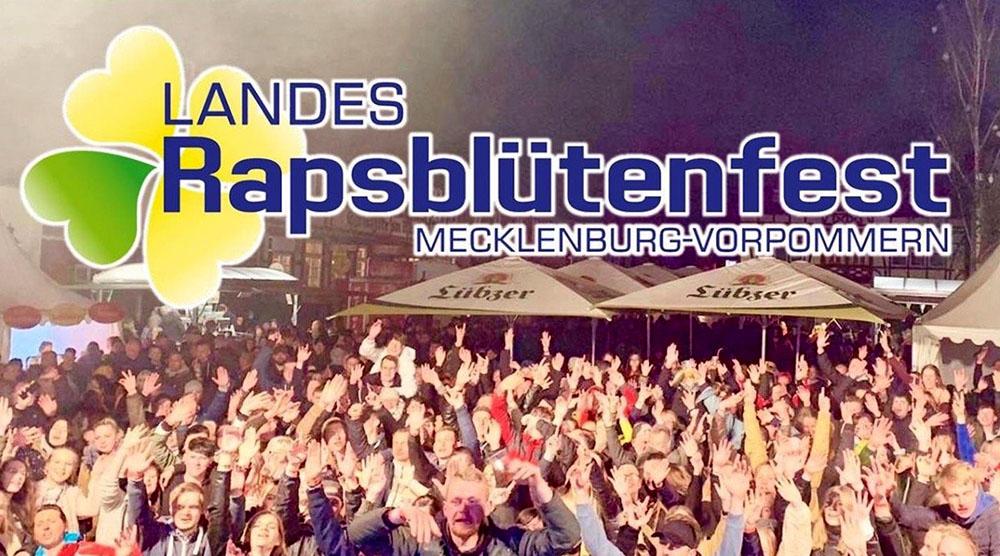 Rapsblütenfest Sternberg